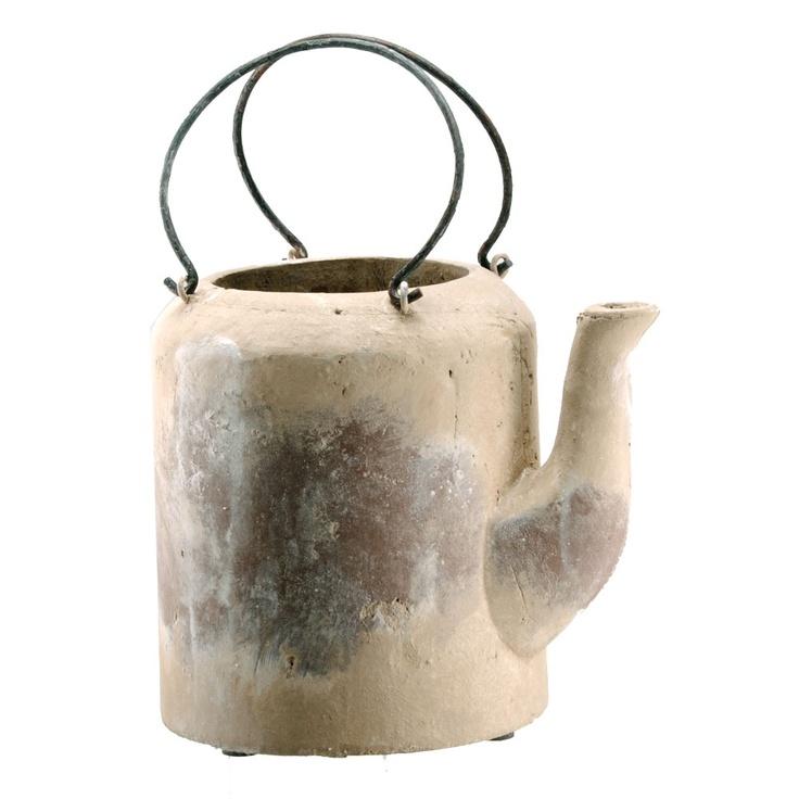 Terracotta TeapotTeas Time, Teas Pots, Cylindrical Teapots, Terracotta Cylindrical, Products, Terracotta Teapots, Teapots Tall