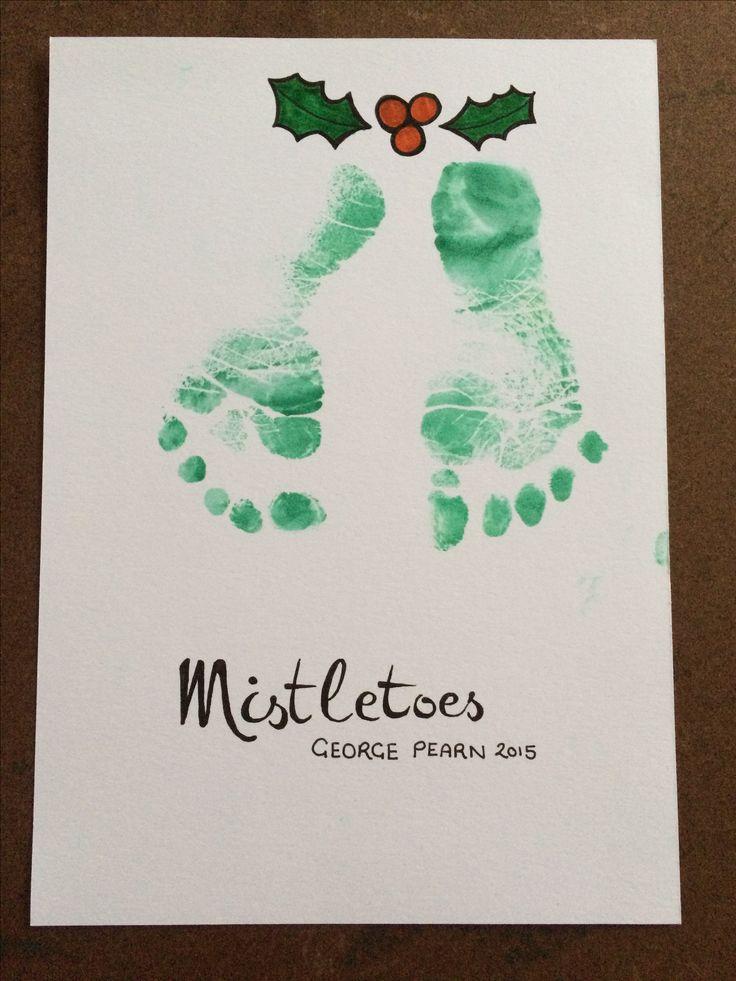 Mistletoes Christmas card Christmas cards, Mistletoe, Cards