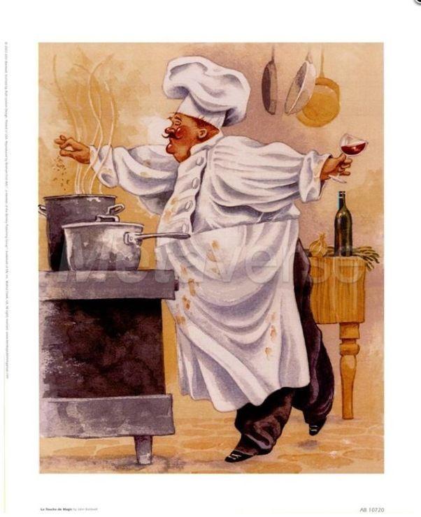 Картинки для кухни поварята