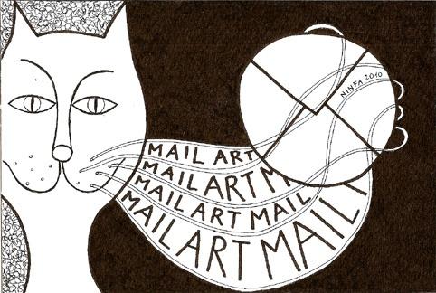 MAIL ART 2010 allunghiamo le vibrisse
