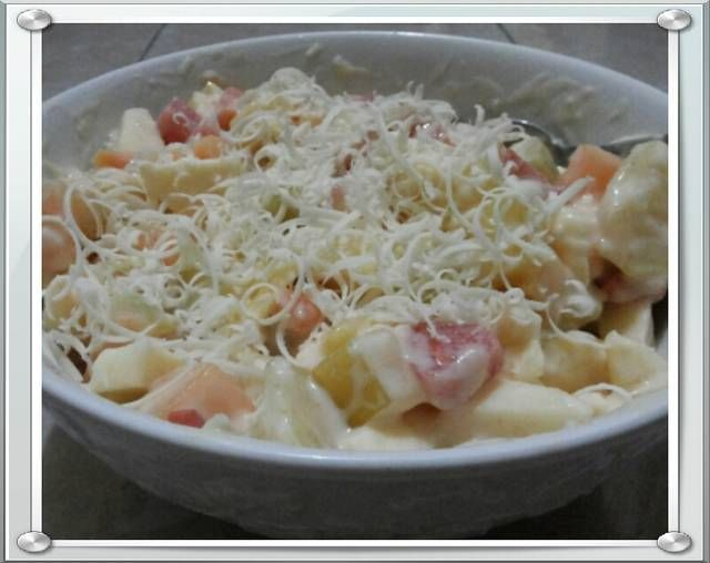 Resep Salad Buah Keju Mayonaise Untuk Diet http://tipsresepmasakanku.blogspot.co.id/2016/09/resep-salad-buah-keju-mayonaise-untuk.html