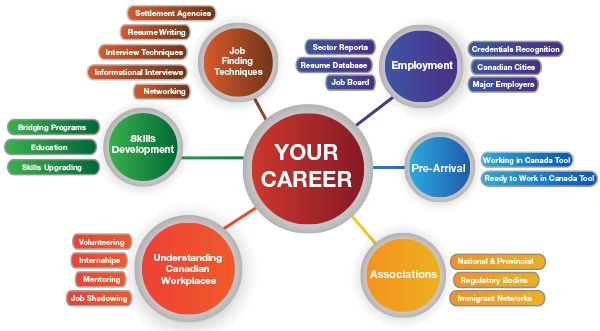 YOUR CAREER PATHWAY  A guide line to the several aspects that need to be considered when working towards establishing your career: - Pre-arrival - Associations - Understanding Canadian Workplaces - Skills Development - Job Finding Techniques - Employment