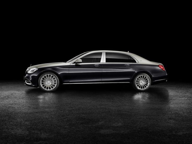 Mercedes-Maybach S-Klasse. Sådan vil du gerne føre dig frem.