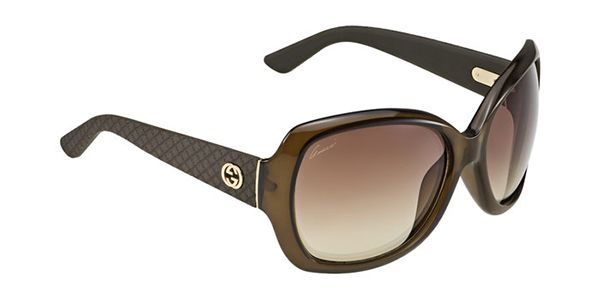 Buy Gucci GG 3715/S INK/OH sunglasses in Brown online today from New Zealand