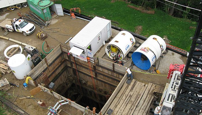 Eastern & Delta Avenue Sewer Separation - Phase 2 | Jay Dee Contractors
