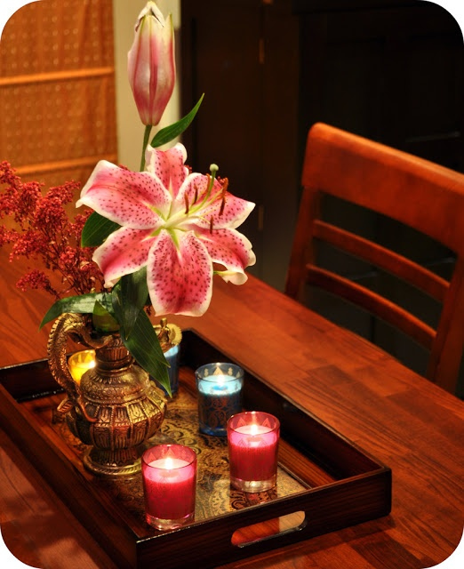 Diwali Decor Ideas. Lamps. Diyas. Lanterns. Flowers