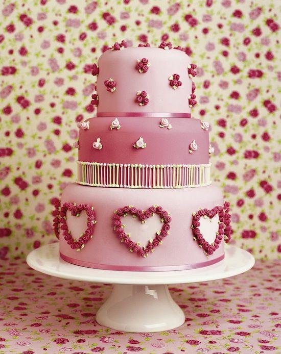 96 best All Heart images on Pinterest | Heart wedding cakes ...