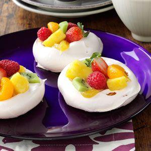Easter Meringue Cups
