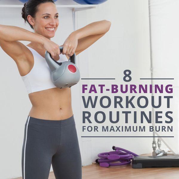 8 Fat-Burning Workouts for Maximum Burn!