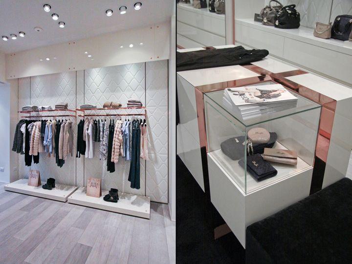 Уникальный дизайн интерьера магазина Liu Jo в Италии