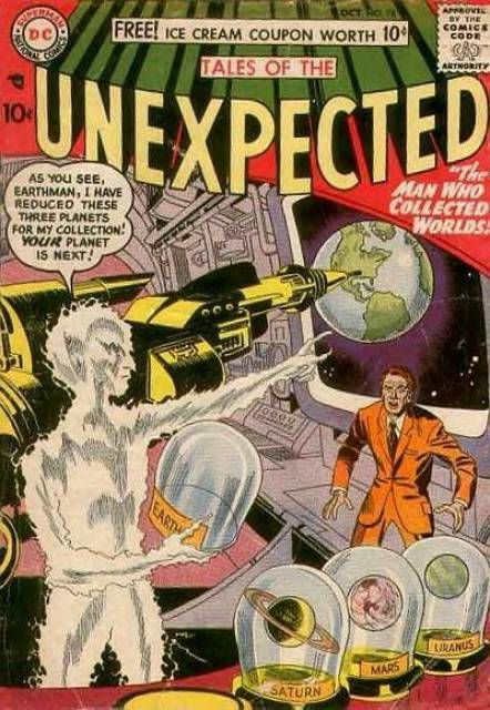 Tales of the Unexpected (Volume) - Comic Vine