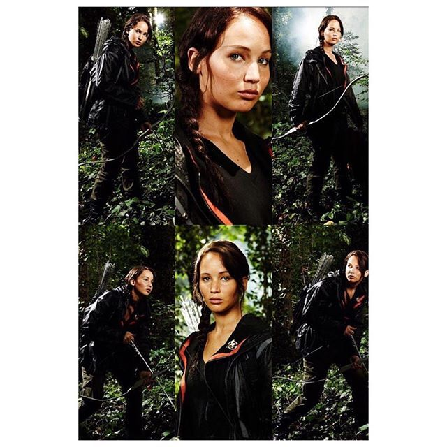 Recent outtakes from  the first photoshoot in 2011 that gave us our first look of Jennifer Lawrence as Katniss Everdeen!/ I love that they are still releasing this kind of stuff it makes me so happy. This is probably the most exciting thing that's happened in our fandom in a while😭 - #katnisseverdeen #jenniferlawrence #peetamellark #joshhutcherson #everlark  #joshifer #thehungergames #catchingfire #mockingjay