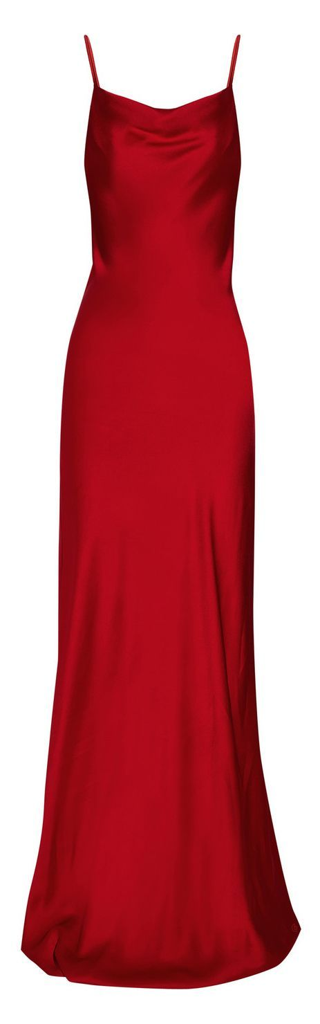When I'm skinny.  Red satin floor length dress.  Wish I had the body for this.  Michael Kors :: Intense Red Sateen-Crepe Gown http://www.lyst.com/clothing/michael-kors-sateencrepe-gown-red/