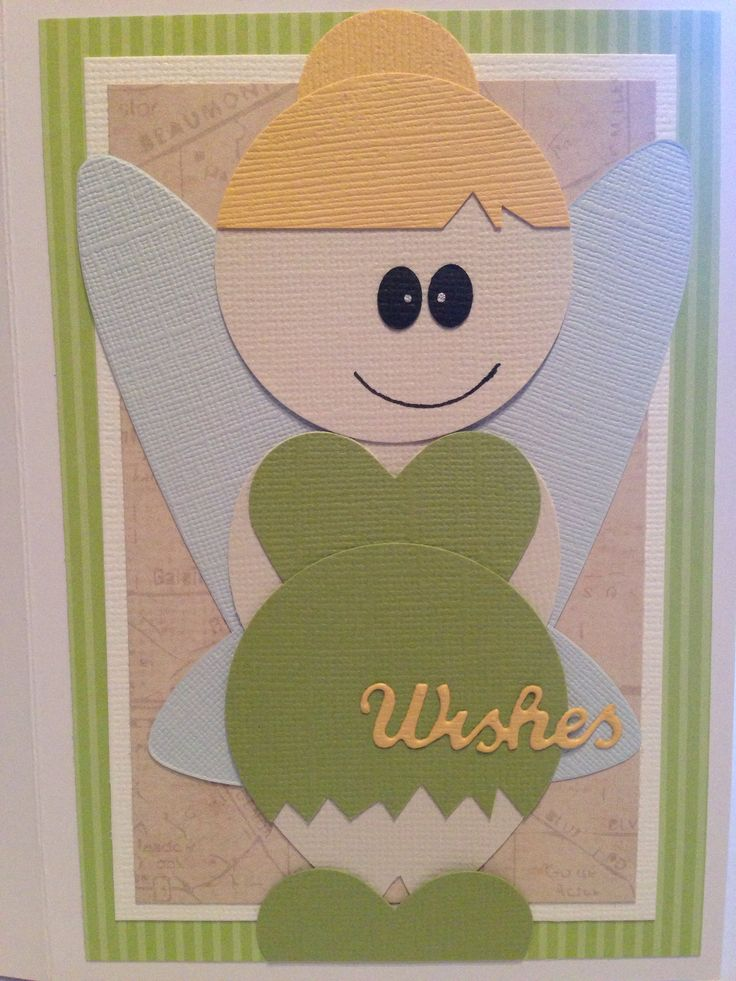 Tinkerbell Punch Art Card