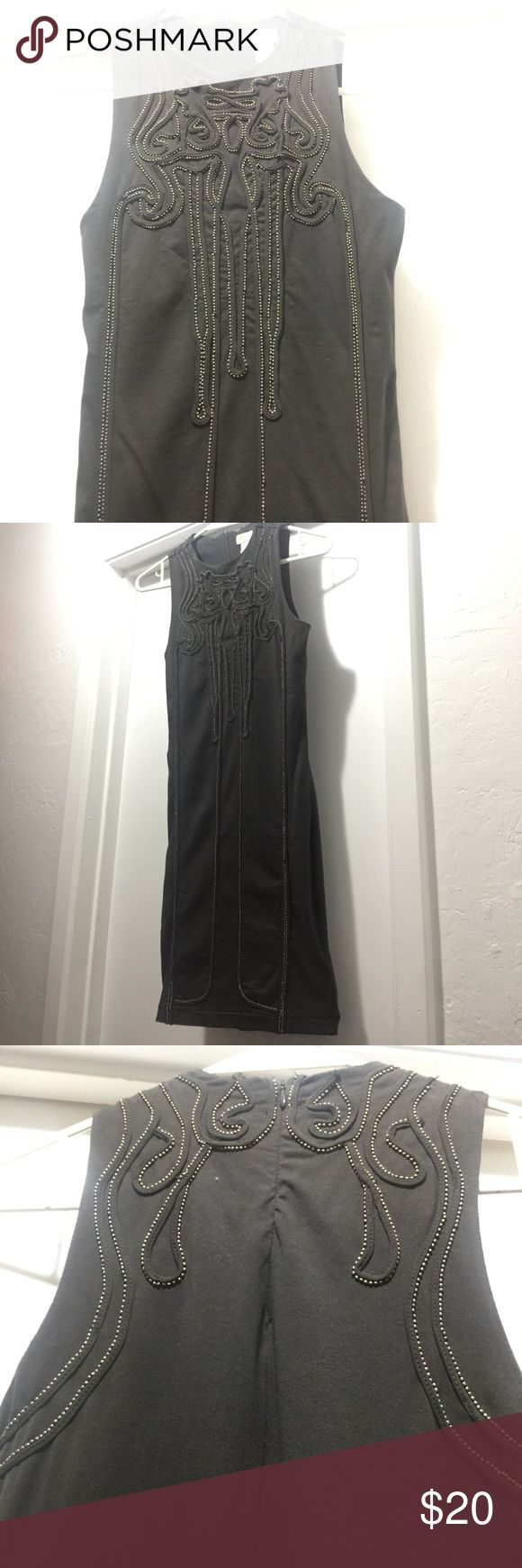 Selling this H&M grey beaded bon con dress on Poshmark! My username is: bwitni. #shopmycloset #poshmark #fashion #shopping #style #forsale #H&M #Dresses & Skirts