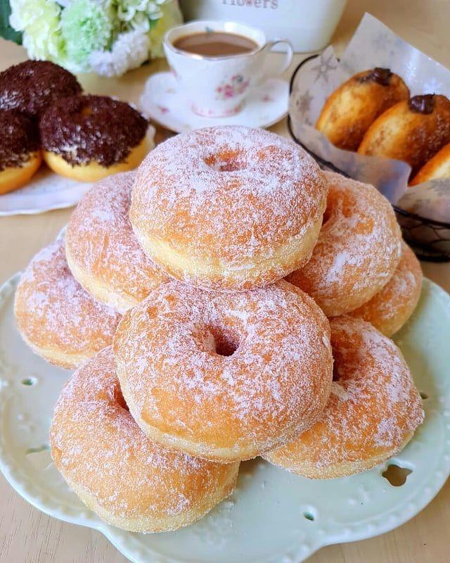 Freshlymade Potato Doughnuts Fen Z Resep Donat Kentang Bahan 400 Gr Tepung Terigu Protein Tinggi 100 Gr Tepu Resep Makanan Manis Resep Masakan Cina