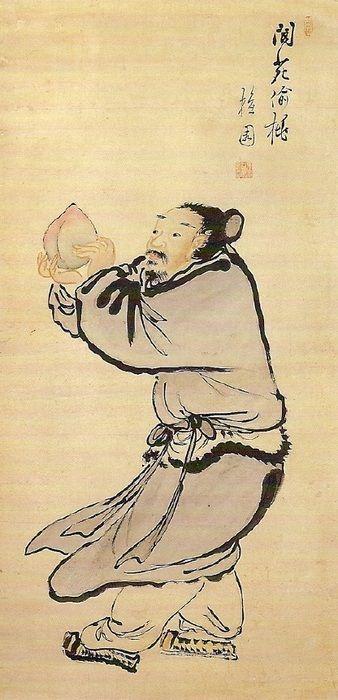 (Korea) 낭원투도 by Kim Hong-do (1745-1806). aka Danwon. ca 18th century CE. Joseon Kingdom, Korea.