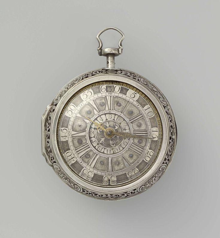 Herenhorloge van zilver, Peter Harmsen, anoniem, 1727
