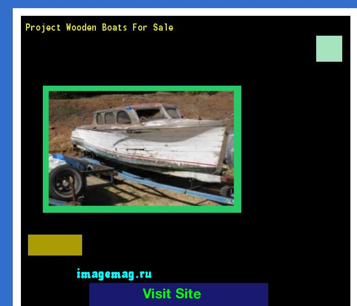 Project Wooden Boats For Sale 072436 - The Best Image Search