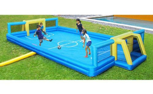 Inflatable-Soccer-Field-Court-Kids-Outdoor-Game-Garden-Football-Backyard-Goal