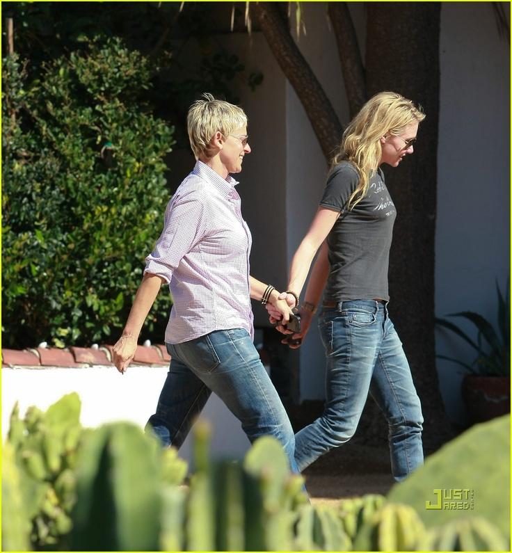 Portia De Rossi Wedding Gown: 98 Best Images About Portia And Ellen On Pinterest