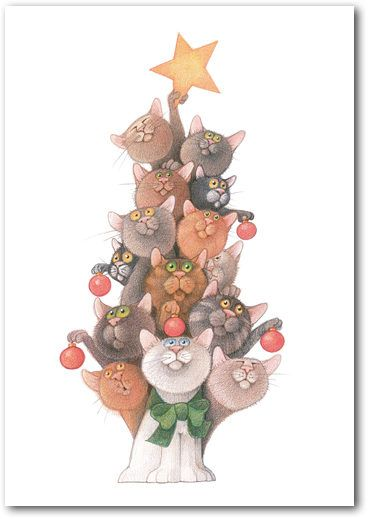 Tree o' Cats - Linnea Riley