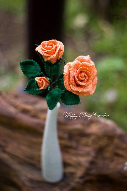 Ravelry: Spray Rose pattern by Happy Patty Crochet
