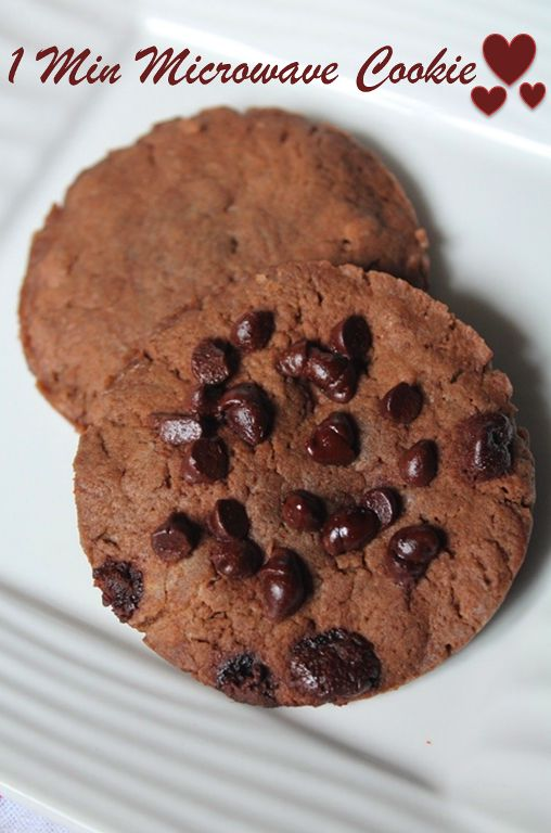 Microwave cookies recipes easy