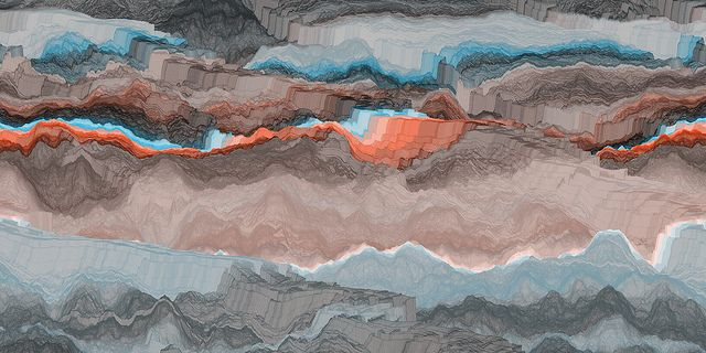 Line Topography 04 by mikecreighton, via Flickr
