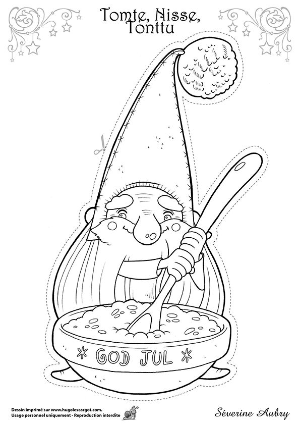nisse coloring pages - photo#9