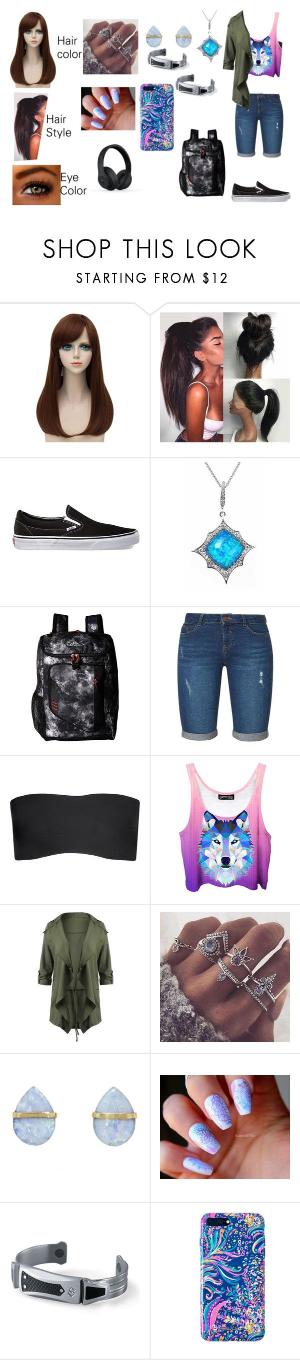"""""""Kimberly (outfit 1 part 1)"""" by adreianna-arroyo on Polyvore featuring Vans, Stephen Webster, High Sierra, Dorothy Perkins, Commando, Melissa Joy Manning, Marvel, Lilly Pulitzer and Beats by Dr. Dre"""