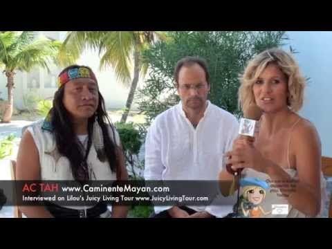 Ac Tah - Mayan & ETs, Light Beings, 3rd eye - Part 2-3