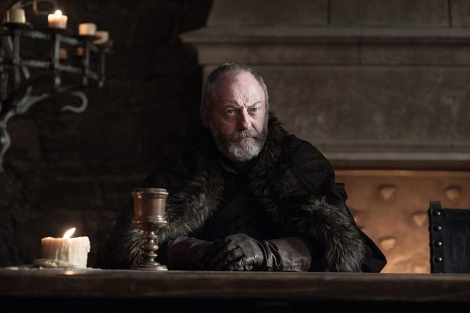 Davos Is Inspiring Quite a Few Game of Thrones Memes for a Hilarious Reason