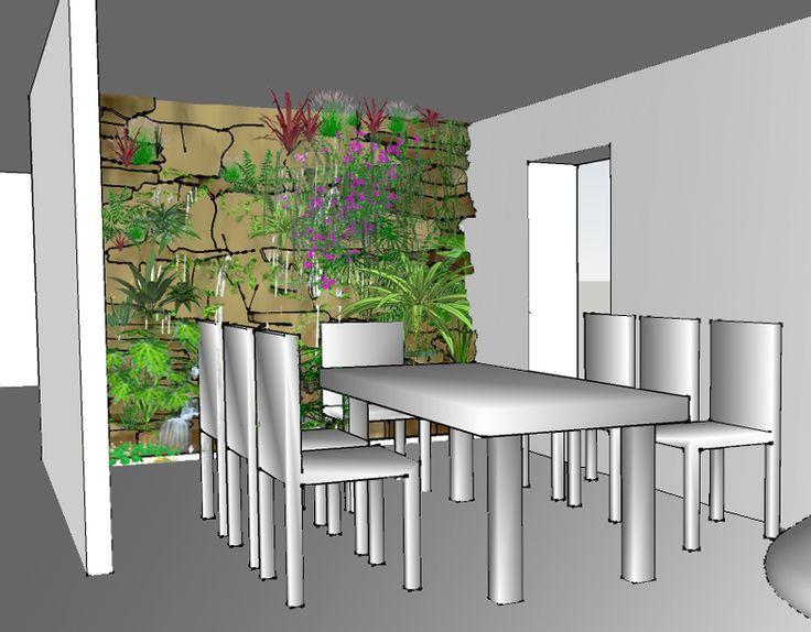 Les 262 meilleures images propos de jardin sur pinterest - Kit mur vegetal interieur ...
