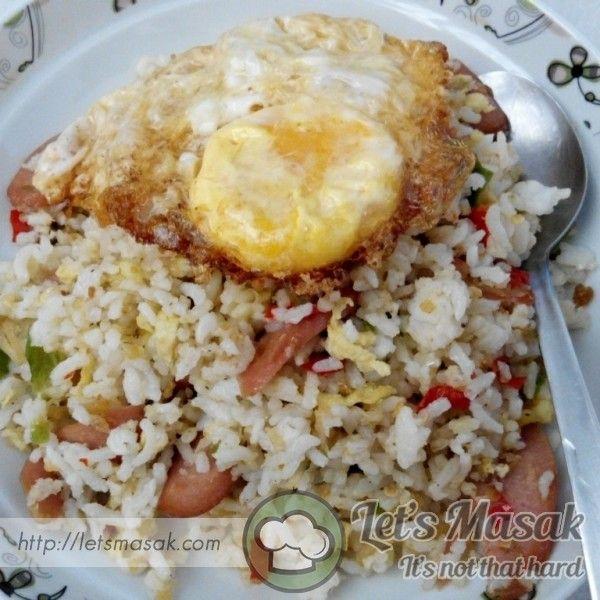Nasi Goreng Pedas Telur Mata