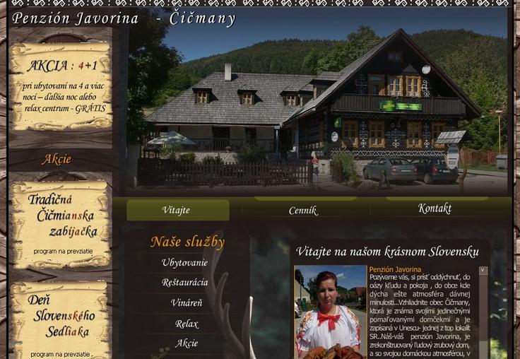 www.penzionjavorina.sk