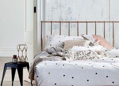 De leukste slaapkamers met polkadots