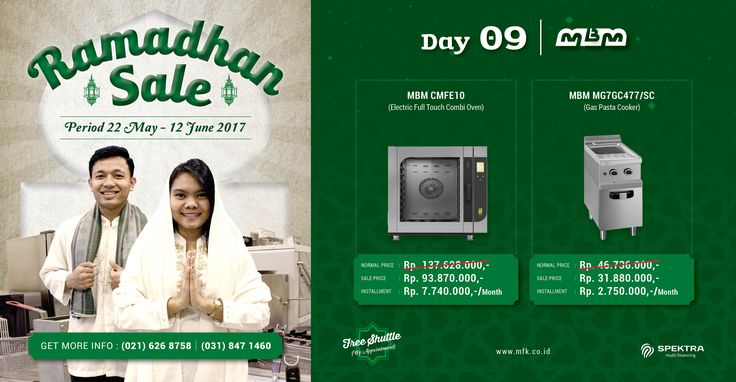 Day 9 Ramadhan Sale : Waiting for MBM special offer? Now it's the time! Get your unbeatable price for MBM today on our Ramadhan Sale! #ramadhansale #mbm
