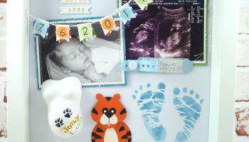 Baby Shadow Box - Jonas