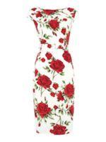 Look what I found at House of FraserDickins & Jones Rose Damour Belted Vintage Dress