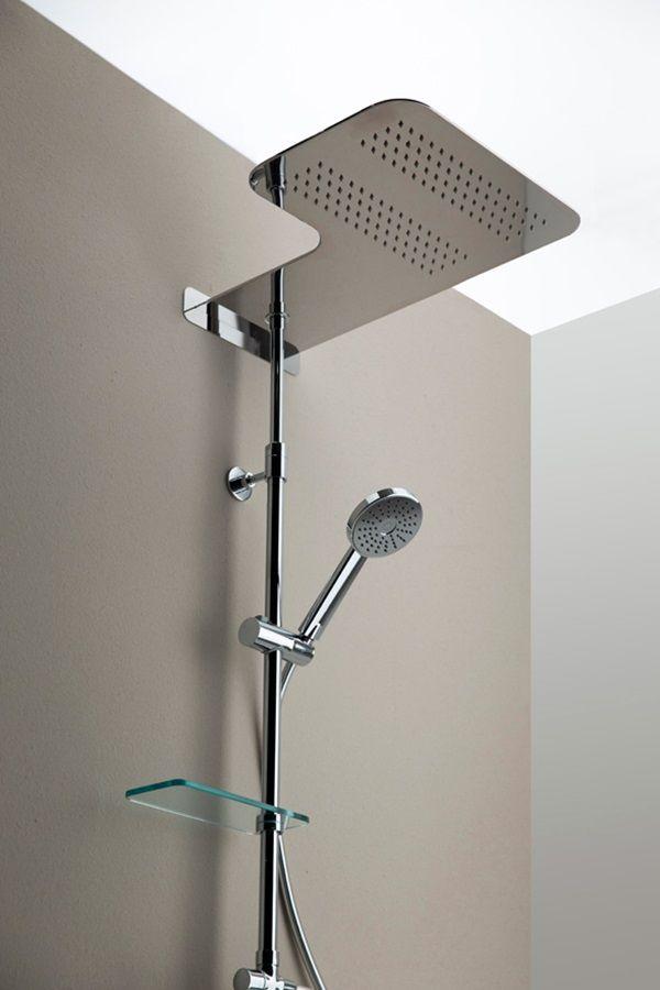 Una vera e propria pioggia di #benessere a casa tua: ecco la colonna doccia Simply Thermo Plus di Grandform. #wellness