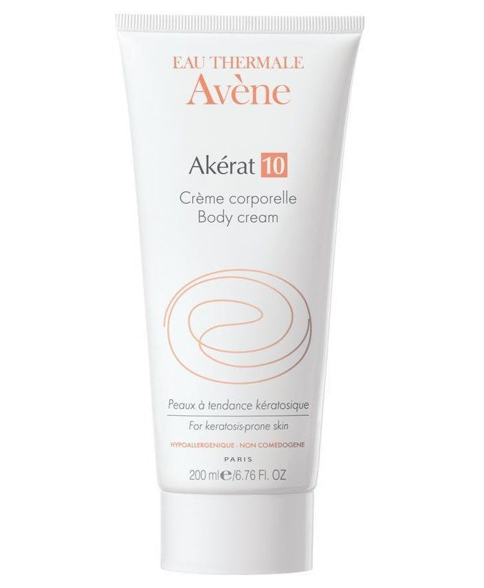 Avene Akerat Body Cream For Dry Skin 200ml Akerat smooths and retexturises extremely dry and rough skin with Avenes special blend of therapeutic thermal spring water. This gently moisturising cream turns unsightly patches of problem skin into  http://www.MightGet.com/january-2017-11/avene-akerat-body-cream-for-dry-skin-200ml.asp
