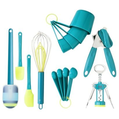 Teal Tool And Gadget Set Everything Turquoise