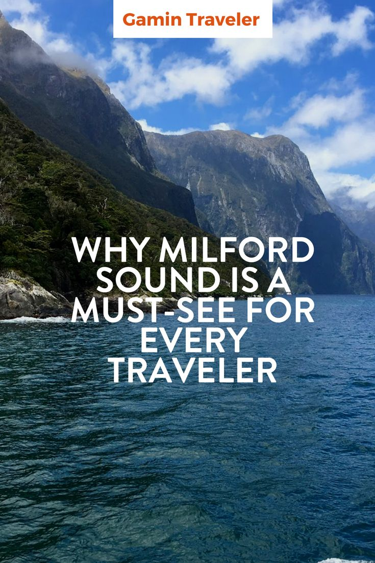 Hiking in Milfor Sound, what to do and where to go. Why Milford Sound in New Zealand is a must see for any World Traveler via @gamintraveler