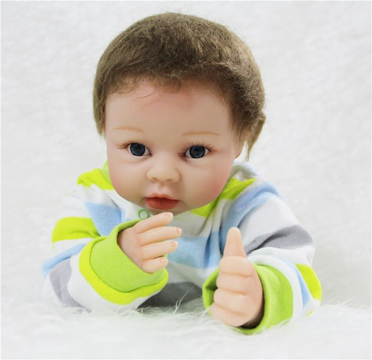 74.11$  Buy here - http://alim6p.worldwells.pw/go.php?t=32720102854 - 55cm silicone reborn dolls	 fashion Girl Boy dolls Toys Birthday Gift Kid's Toys bebe gift bonecas reborn de silicone 74.11$