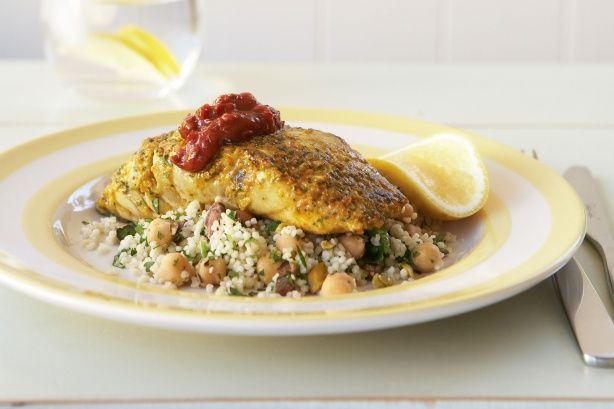 Hearty comfort meets healthy eating in this delicious fish recipe. Plus it's quick to prepare and kind to your waistline.
