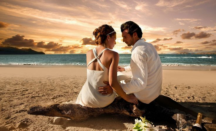 Plaja exotica pentru juraminte eterne