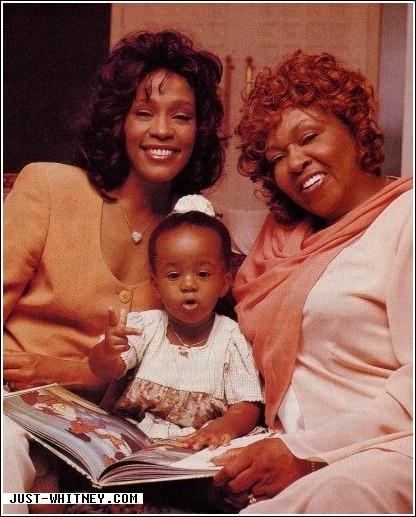 Whitney Houston, Cissy Houston, Bobbi Kristina Brown