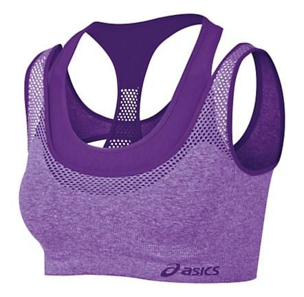 Womens ASICS Pure Seamless Sports Bras