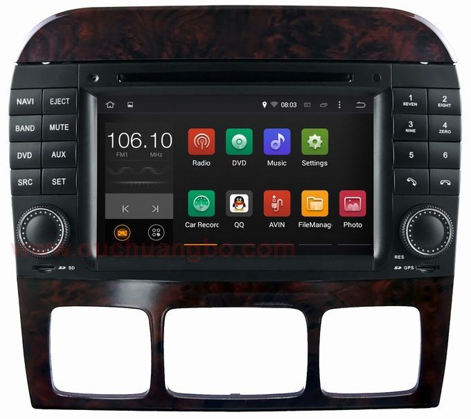 Find More Car DVD Information about Android 4.4 audio dvd stereo radio navi Mercedes Benz W220 S280 S320 S350 S400 S420 S430 suport 1024*600 BT dual core,High Quality Car DVD from China gps auto on Aliexpress.com